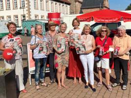 SPD Kahl für Olaf Scholz Wochenmarkt Kahl