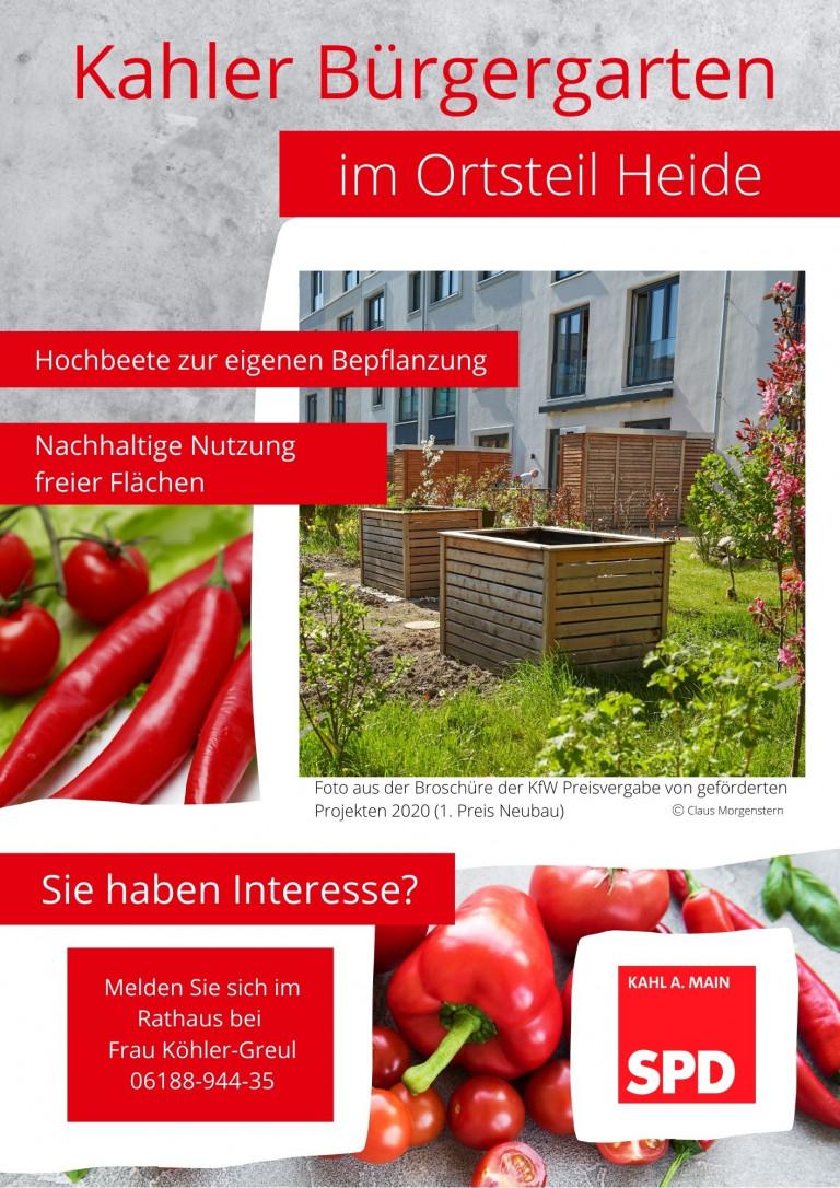SPD Bürgergarten